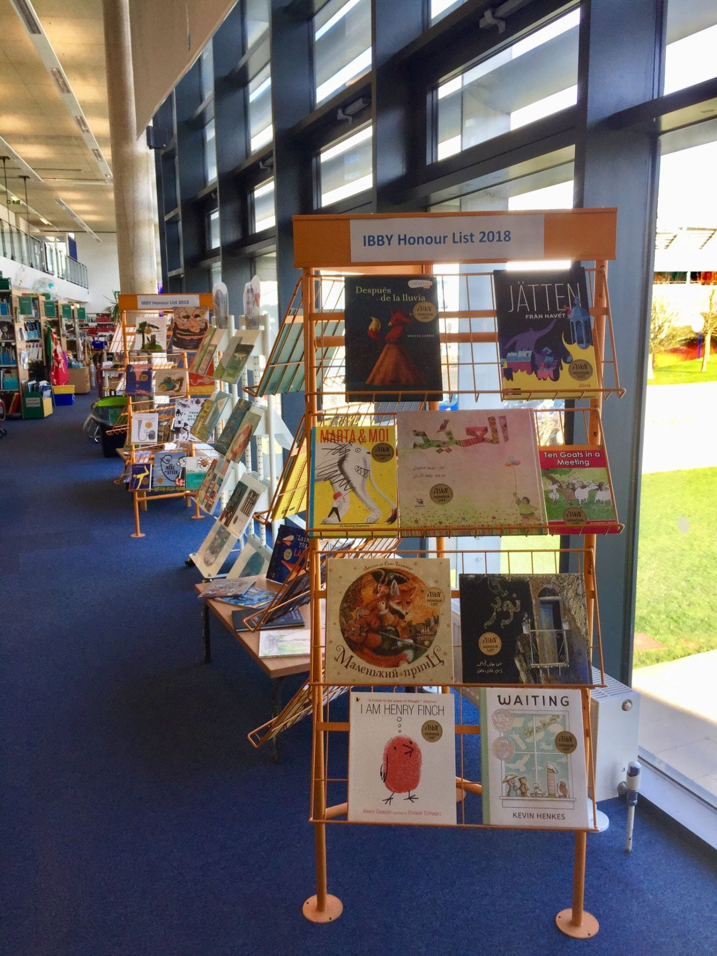 Display of IBBY in Curriculum Centre