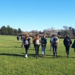 Geography PGCE students partake in local fieldwork opportunity