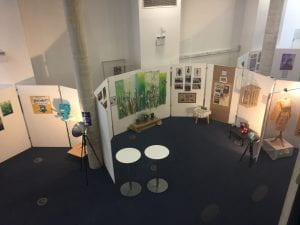 art show from above
