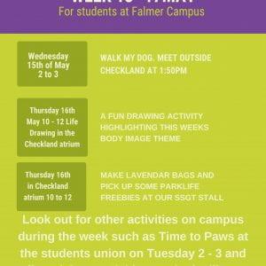 Mental Health Awareness Week at Falmer