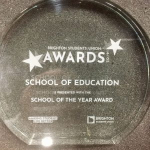 We're School of the Year!