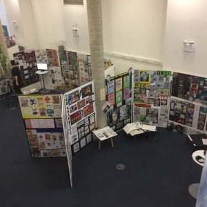 PGCE students display outstanding work