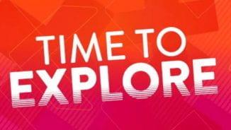 Time to explore logo