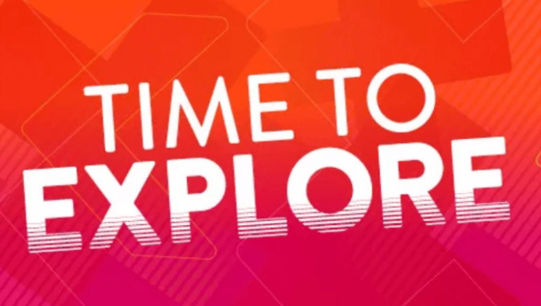 Time to explore logo