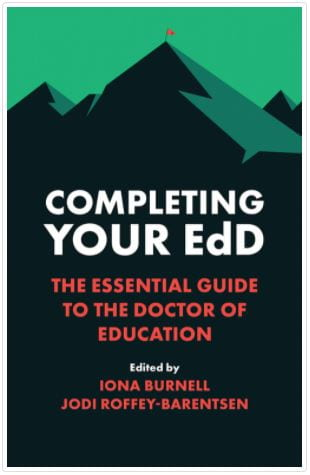 book cover for Completing your EdD