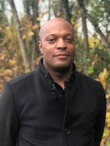 Profile protrait of Dr Marlon Moncrieffe