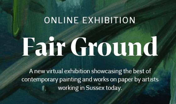 screen shot of the exhibition website