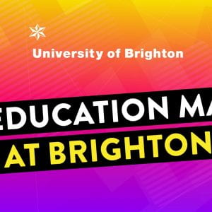 Book your place for our Education MA online event