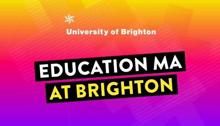 Education MA slogan