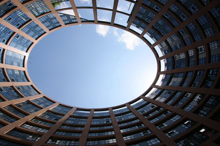 Where EU laws are made: the European Parliament in Strasbourg. jeffowenphotos/www.flickr.com, CC BY