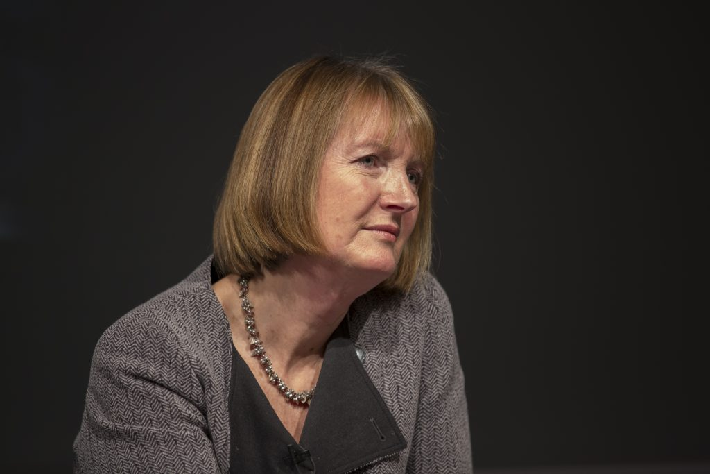 Harriet Harman QC MP, who led on and introduced the Equality Act 2010. Credit - University of Salford Press Office