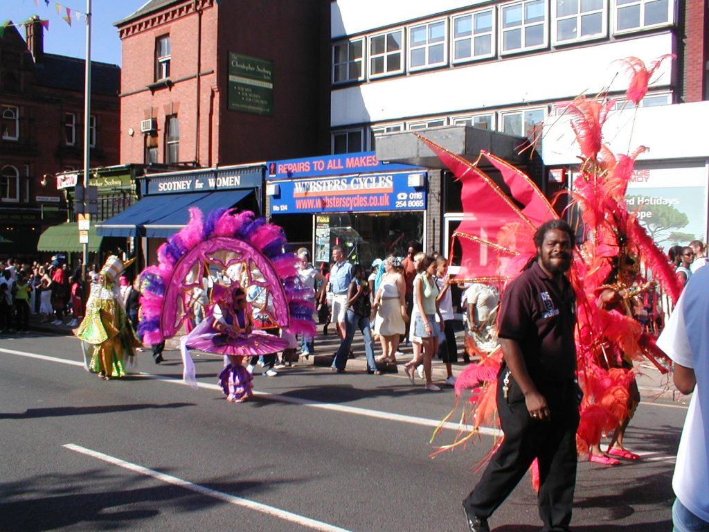 Leicester Caribbean carnival. Andrew Norman/Wikipedia