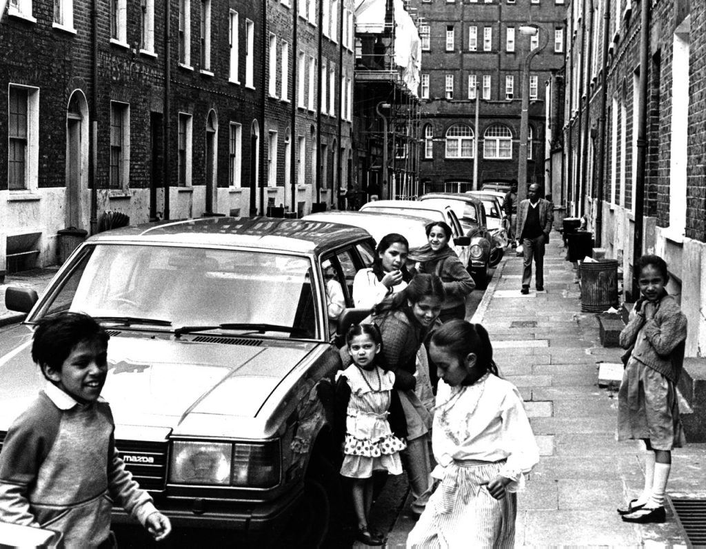 Early second generation Bangladeshis in Whitechapel, 1986. Al Cane/Flickr.com