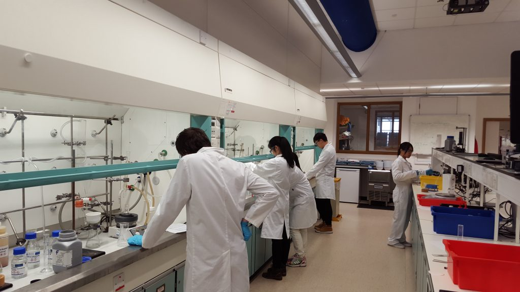 Winter Chemistry Camp, Bristol ChemLabS, January 2016
