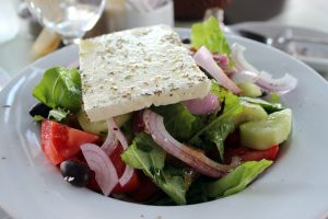A typical Greek salad with feta cheese. Credit - pixabay.com