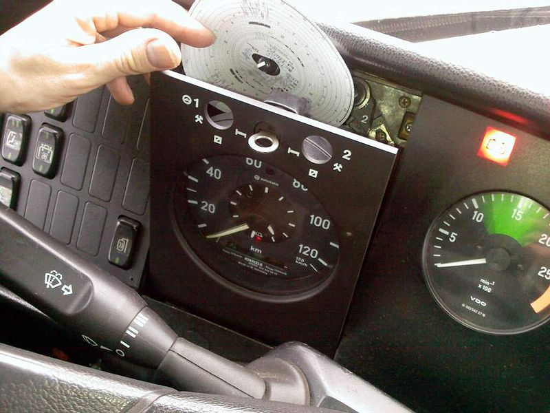 Tachograph image