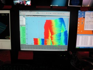 Mapping the seafloor using Isis. Photo by Shannon