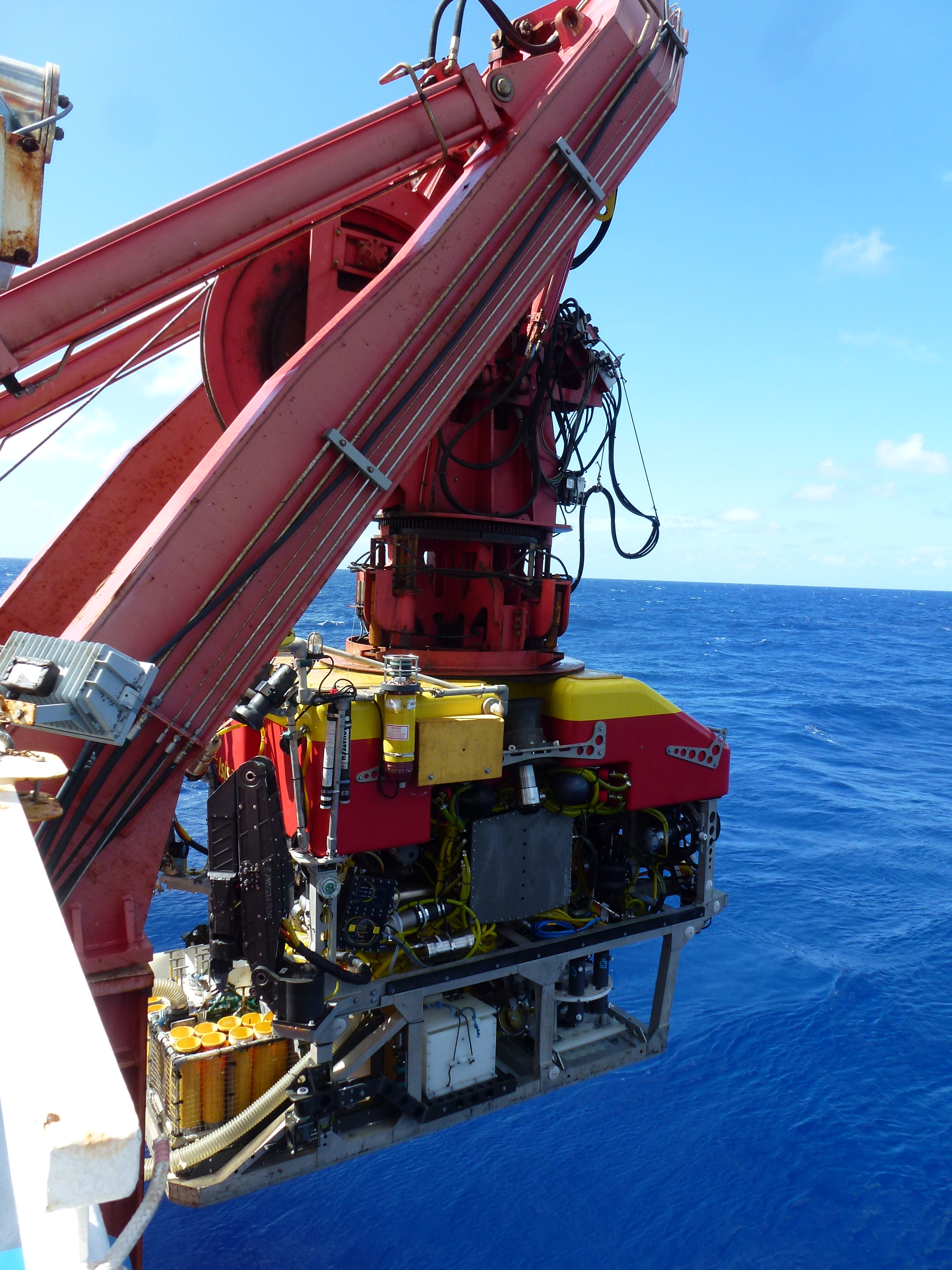 Cruise Ship Engine Control Room: Tracing Ocean Processes Using Corals And