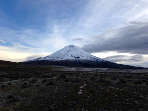 Cotopaxi volcano, summit 5897 m ASL