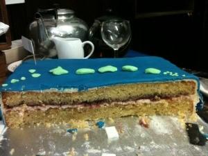 PhD cake