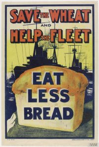 Image 1 - 1917 Wheat Fleet Propaganda Poster