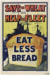 Image 1 - 1917 Wheat Fleet Propaganda Poster