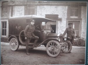 Image 9 RAF Vehicle outside shop