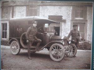 Image 9 RAF Vehicle outside shop