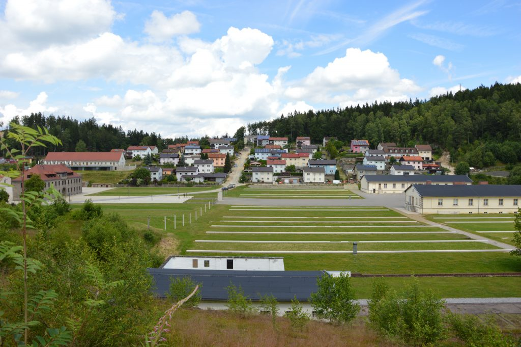 Flossenbürg concentration camp memorial, where Doreen conducted fieldwork by surveying visitors