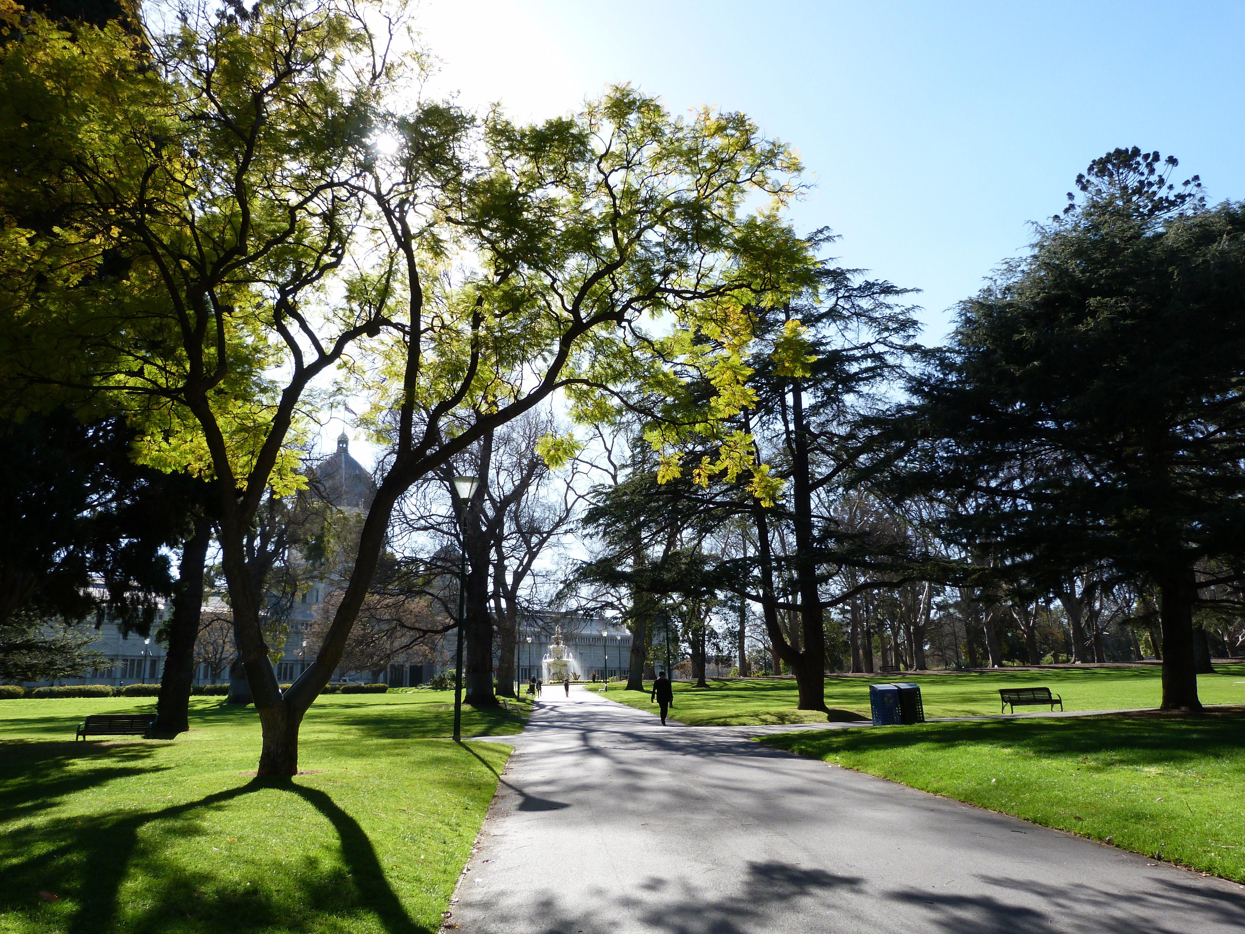 Carlton Gardens, Melbourne.