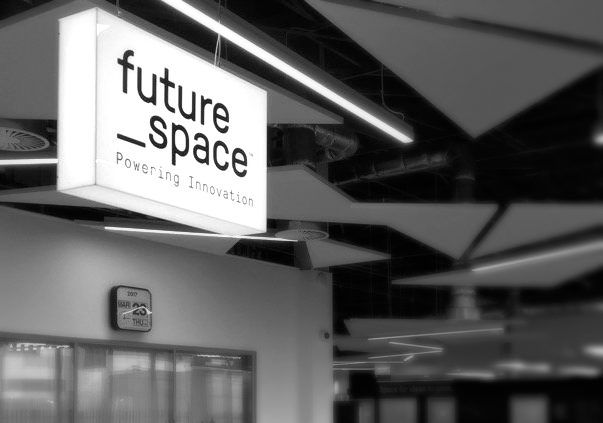 'Future Space' sign