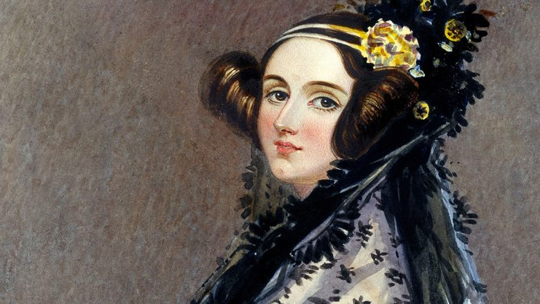 Portrait of Ada King, Countess of Lovelace (Ada Lovelace), by Alfred Edward Chalon