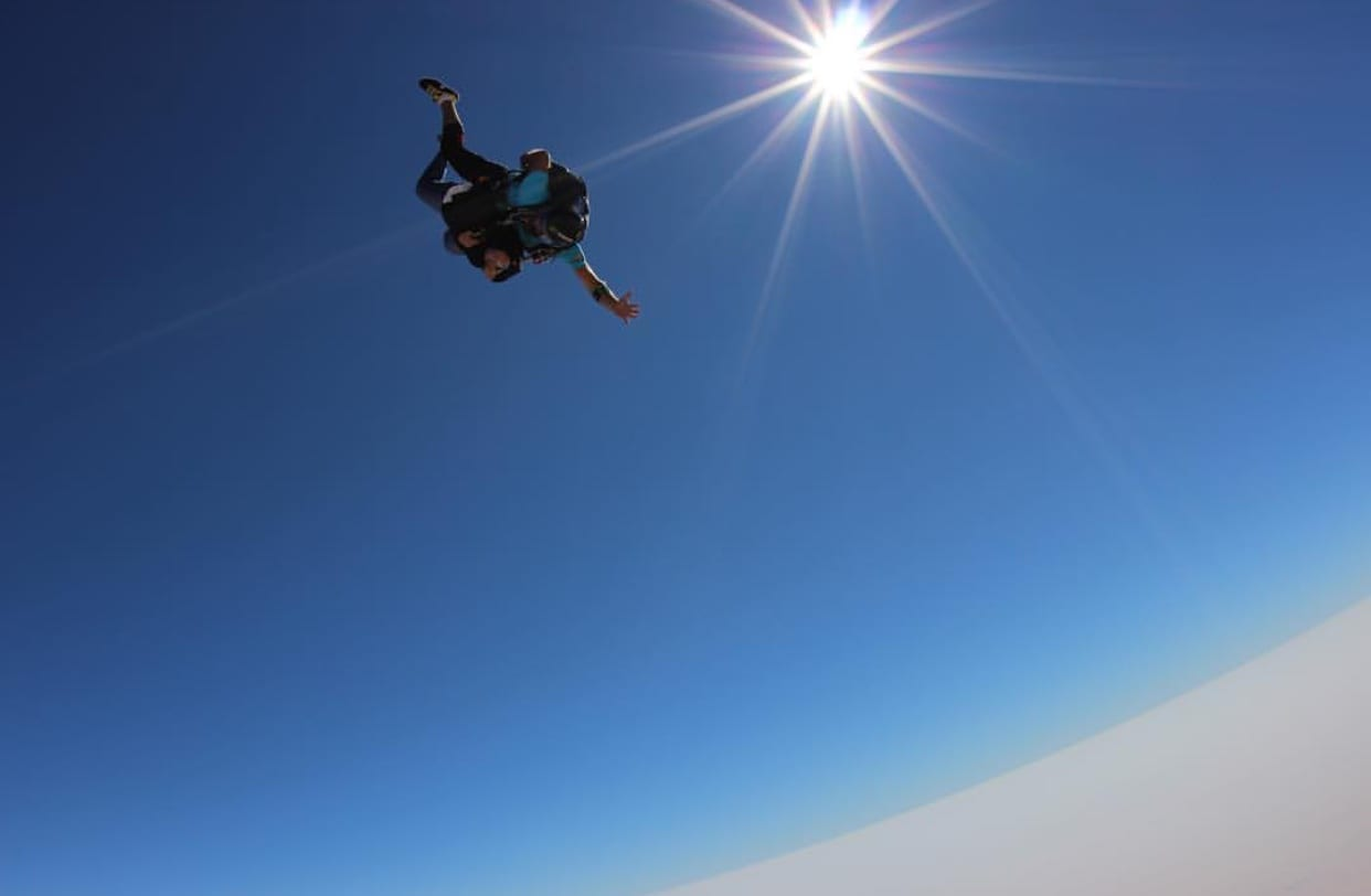 Skydiving image by Maneera Aljaber