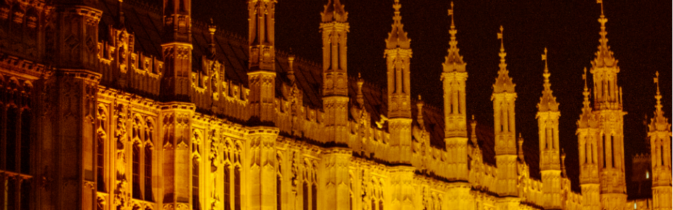 Detail of Houses of Parliament, Westminster