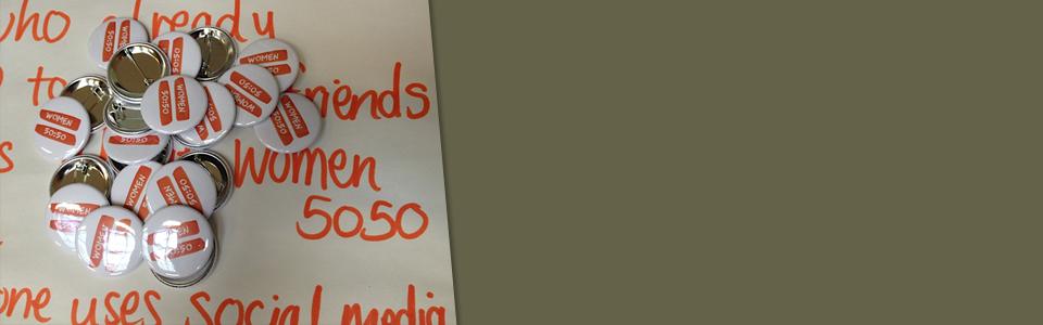 Women 5050 badges