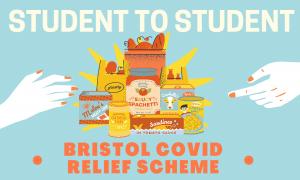 Student to Student Bristol Covid Relief Scheme banner