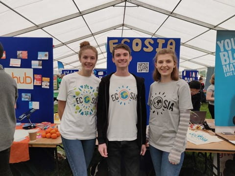 Image of Ecosia student campaign team