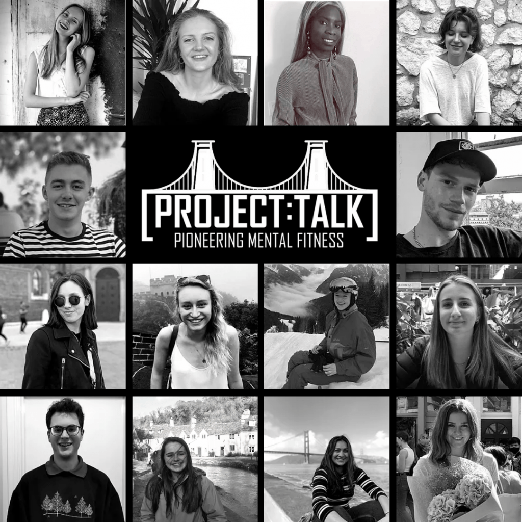 PROJECT:TALK logo and committee members