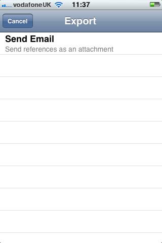 Send via email