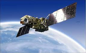 GOSAT spacecraft in orbit