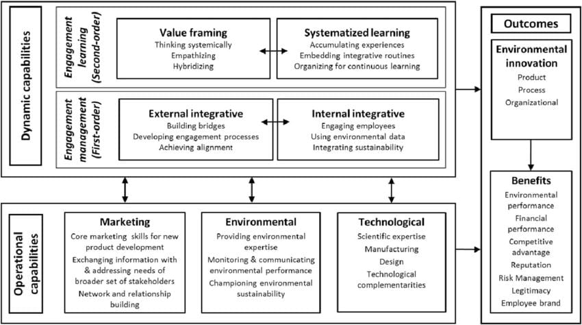 a hierarchical capability based framework for stakeholder engagement in environmental innovation