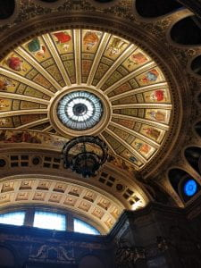 Inside McEwan Hall