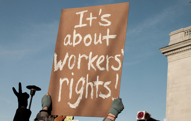 Image result for it's about workers' rights
