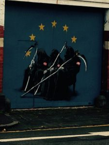Banksy on North Street - the Troika