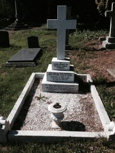 Walter's grave
