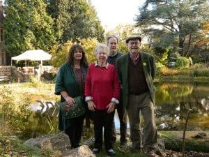 IsamBard poets in the Garden