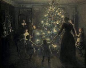 """Joyful Christmas"" by Viggo Johansen (1891)"