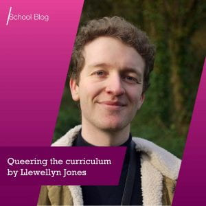 Queering the curriculum by Llewellyn Jones