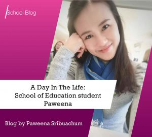 Day in the life of student Paweena