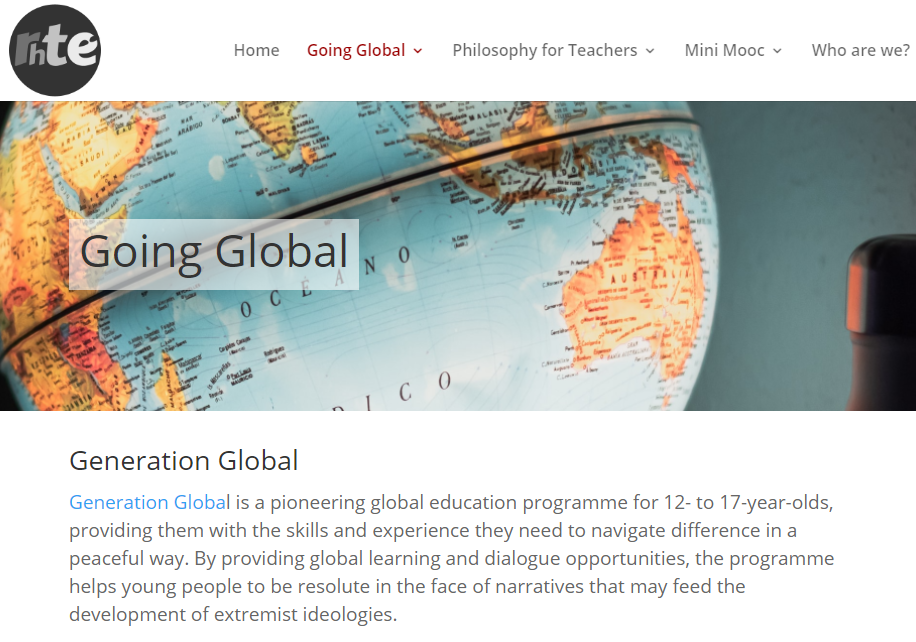Re-Humanising Teacher education (RHTE) project website